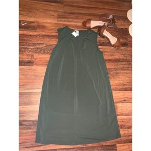 H&M olive green dress
